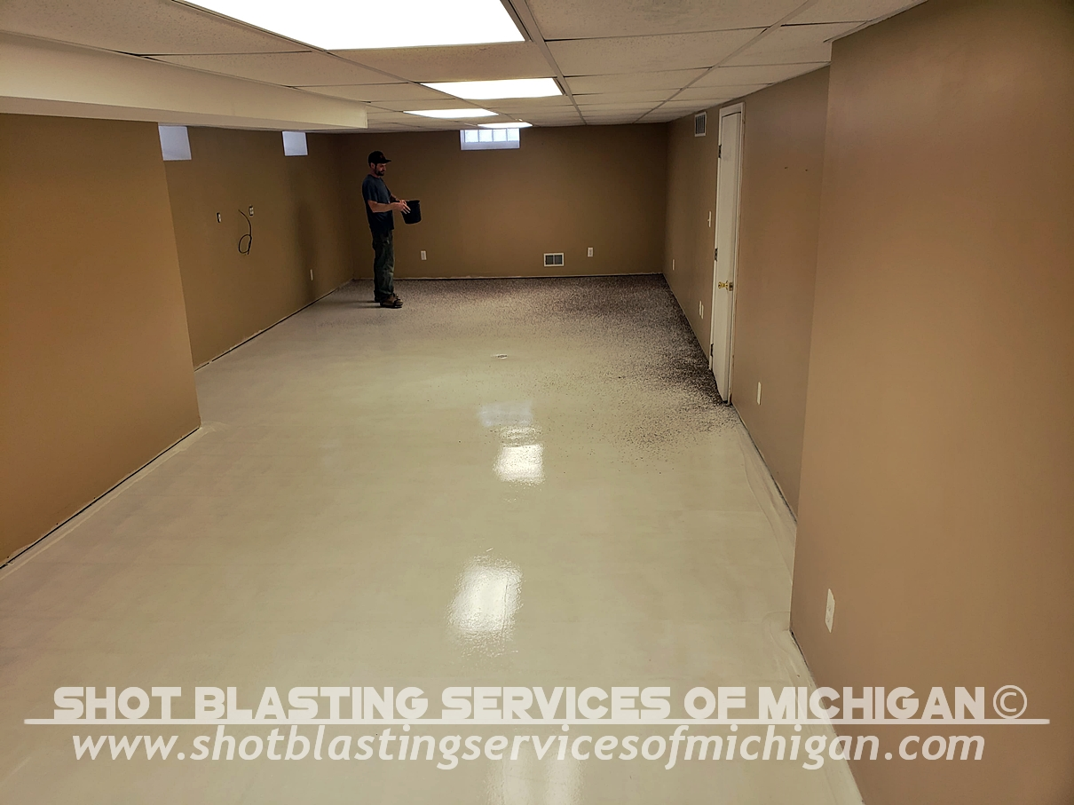 Shot Blasting Services Of Michigan Full Broadcast Chip Basement 02 2020 01 03